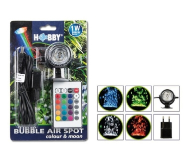 HOBBY Bubble Air LED Spot mit Fernbedienung