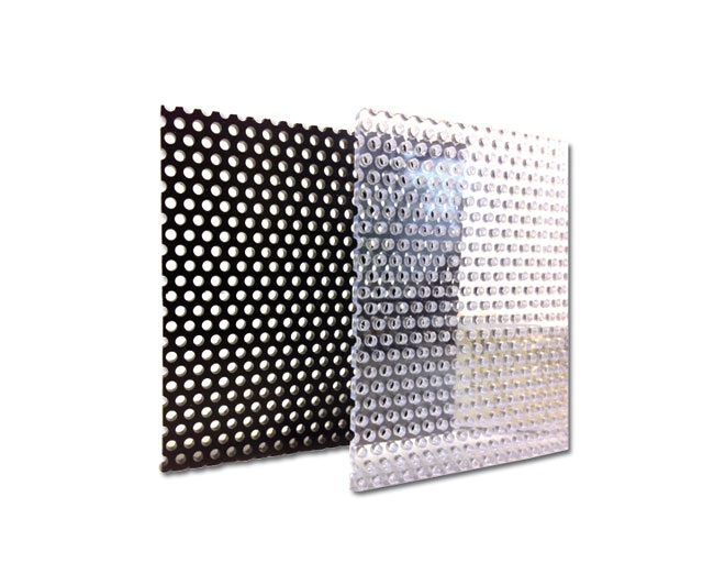 Pvc Lochplatte 495 X 495 X 3 Mm Transparent Aquaterra Discount Ch